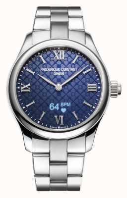 Frederique Constant Womens | Vitality | Smartwatch | Blue Dial | Stainless Steel FC-286N3B6B