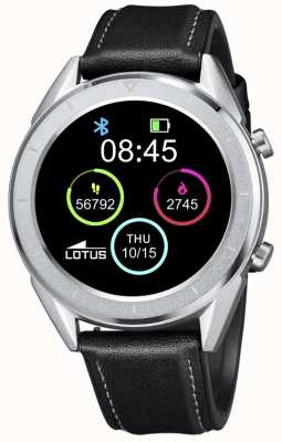 Lotus SmarTime | Men's | Black Leather Strap + Free Strap L50008/3