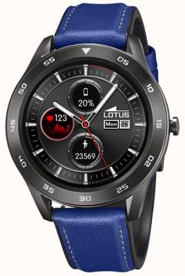 Lotus SmarTime | Men's | Blue Leather Strap + Free Strap L50012/2