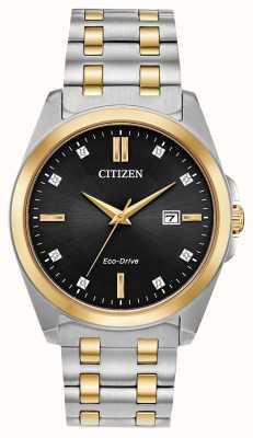 Citizen Corso Eco-Drive Two-Tone Watch BM7107-50E