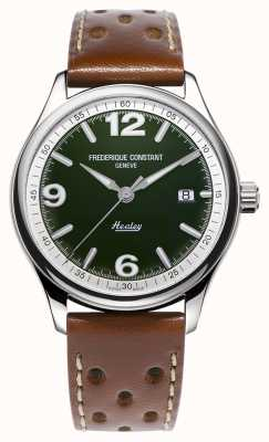 Frederique Constant Men's Vintage Rally Healey Automatic | Brown Leather Strap FC-303HGRS5B6
