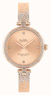 Coach   Women's   Park   Rose Gold Stainless Steel Bracelet   14503651