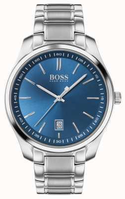 BOSS Circuit Sport Lux | Stainless Steel Bracelet | Blue Dial 1513731