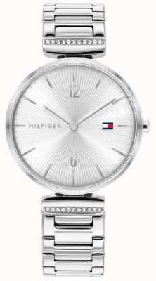 Tommy Hilfiger | Women's | Aria | Stainless Steel Silver Bracelet | Silver Dial | 1782273