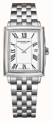 Raymond Weil Women's Toccata | Stainless Steel Bracelet | White Dial 5925-ST-00300