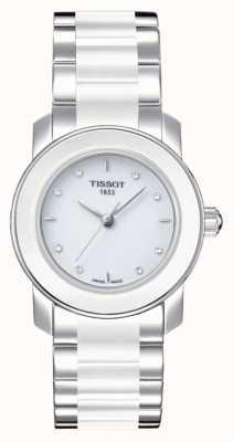 Tissot Womens Cera 28mm Diamond Set Watch T0642102201600