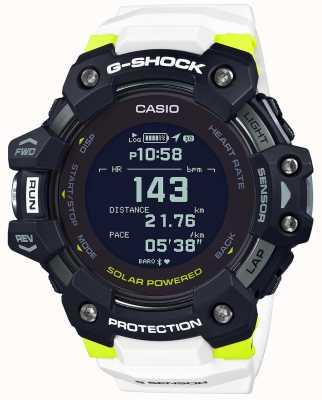 Casio G-SHOCK | G-SQUAD | Heart Rate Monitor | Bluetooth | White | GBD-H1000-1A7ER