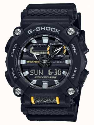 Casio G-SHOCK | Heavy Duty | World Time | Black Resin GA-900-1AER