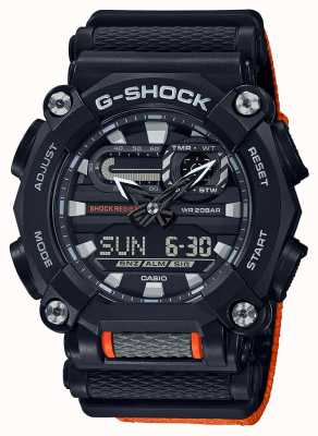 Casio G-SHOCK | Heavy Duty | World Time | Orange GA-900C-1A4ER