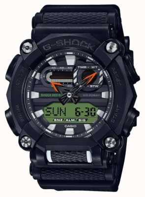 Casio G-SHOCK | Heavy Duty | World Time | Black GA-900E-1A3ER