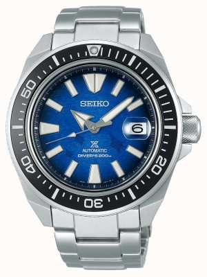 Seiko Men's Save The Ocean | Manta Ray | Stainless Steel Bracelet SRPE33K1