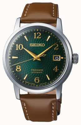 Seiko Presage | Automatic | Green dial | Mojito | Date | Golden SRPE45J1