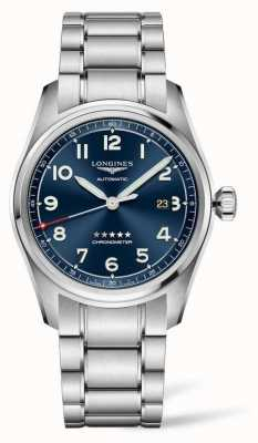 Longines Spirit 42mm Stainless Steel Blue Dial Automatic L38114936