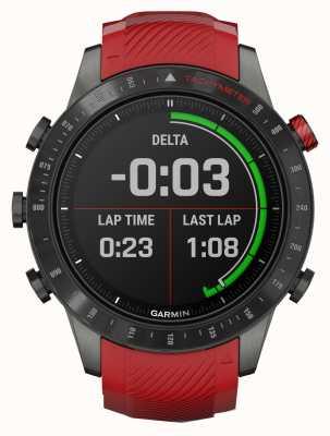 Garmin MARQ Driver Performance Edition | Red Silicone Strap 010-02567-01