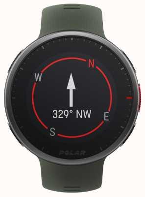 Polar | Vantage V2 Premium | Multisport Watch | Black/Green | 90083653