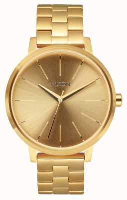Nixon Kensington | All Gold | Gold IP Steel Bracelet | Gold Dial A099-502-00