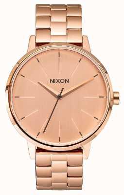 Nixon Kensington | All Rose Gold | Rose Gold IP Bracelet | Rose Gold Dial A099-897-00