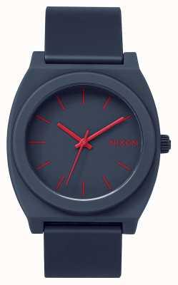 Nixon Time Teller P | Matte Navy | Navy Silicone Strap | Navy Dial A119-692-00