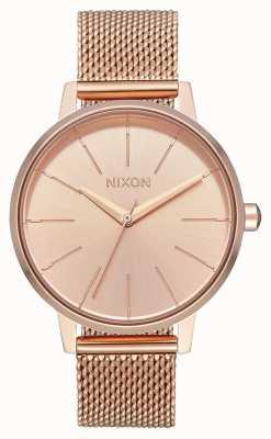 Nixon Kensington Milanese | All Rose Gold | Rose Gold IP Mesh | Rose Gold Dial A1229-897-00