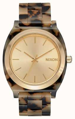Nixon Time Teller Acetate | Cream Tortoise | Cream Dial A327-3346-00