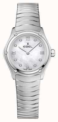 EBEL Women's Sport Classic | Stainless Steel Bracelet | Silver Diamond Dial 1216474A