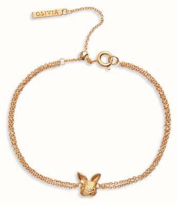 Olivia Burton 3D Bunny | Chain Bracelet | Gold OBJAMB97