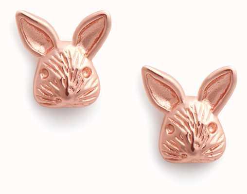 Olivia Burton 3D Bunny | Stud Earrings | Rose Gold OBJAME110