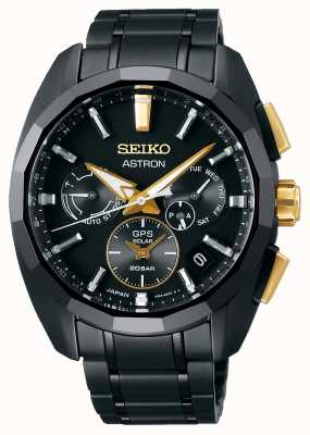 Seiko Astron   Limited Edition   GPS Solar   Titanium Bracelet SSH073J1