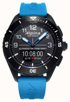 Alpina | AlpinerX Alive | Blue Rubber Strap | AL-284LBBW5AQ6
