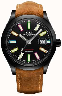 Ball Watch Company Limited Edition Engineer II Rainbow COSC Automatic Chronometer 43mm Titanium NM2028C-L28CJ-BK