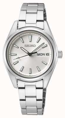 Seiko | Women's | Quartz | Stainless Steel Bracelet | Silver Dial SUR349P1