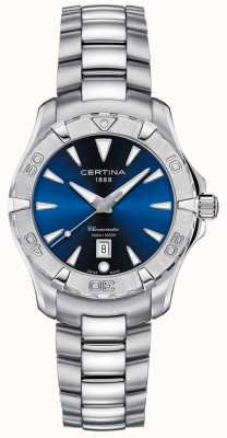 Certina Womens | DS Action | Stainless Steel | Blue Dial C0322511104100