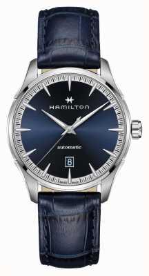 Hamilton Jazzmaster | Auto | Blue Leather Strap | Blue Dial H32475640