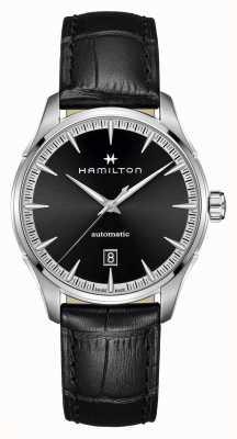 Hamilton Jazzmaster | Auto | Black Leather Strap | Black Dial H32475730