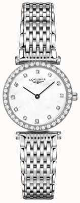 Longines Womens | La Grande Classique | Diamond White Dial | Stainless Steel L43410806