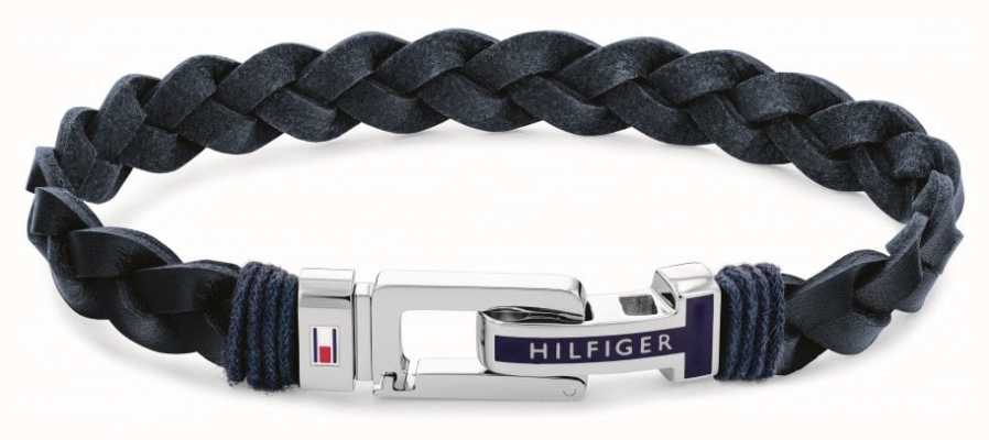 Tommy Hilfiger Casual | Men's Blue Leather Bracelet 2790308