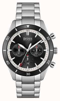 BOSS Santiago | Black Dial | Stainless Steel Bracelet 1513862