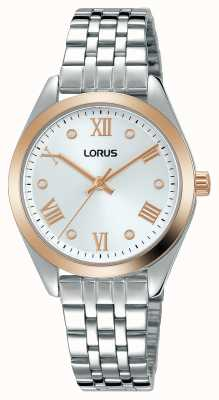 Lorus Womens | Silver Dial | Stainless Steel Bracelet RG256SX9