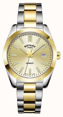 Rotary Womens | Henley | Champagne Dial | Two Tone Stainless Steel Bracelet LB05181/03