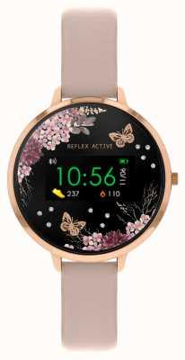 Reflex Active Series 3 Smart Watch | Nude Pink Strap RA03-2014