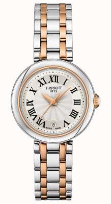 Tissot Bellissima | Silver Dial | Two Tone Stainless Steel Bracelet T1260102201301