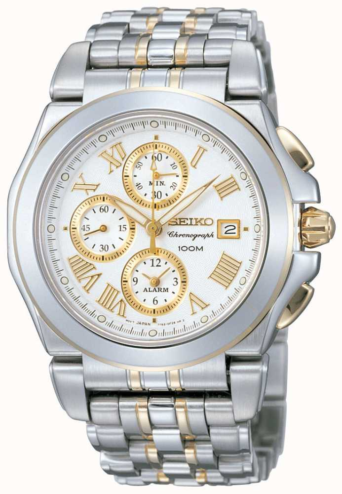 Seiko Mens Chronograph Sna526p1 First Class Watches Irl