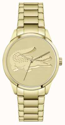 Lacoste Ladycroc | Gold Plated Bracelet | Gold Dial 2001175