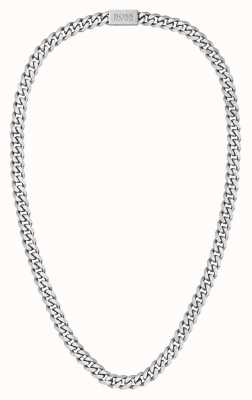 BOSS Jewellery Men's Stainless Steel Chain Necklace 1580142