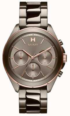 MVMT Getaway | Women's Grey IP Bracelet | Grey Dial 28000130-D
