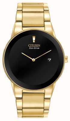 Citizen Men's Eco-Drive Axiom Gold Bracelet AU1062-56E