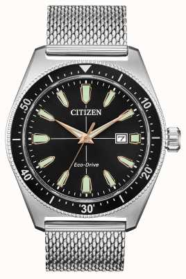 Citizen Men's Brycen Eco-Drive Stainless Steel AW1590-55E