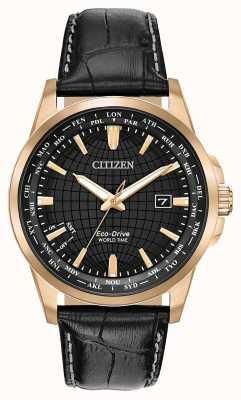 Citizen Men's Eco-Drive World Timer WR50 BX1003-08E
