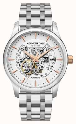 Kenneth Cole Automatic | Silver Dial | Stainless Steel Bracelet KC10027198A