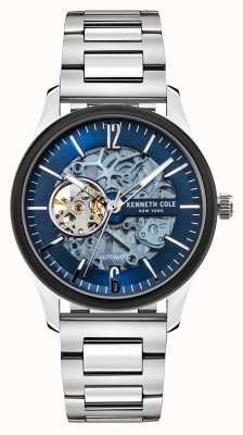 Kenneth Cole Automatic | Blue Dark Dial | Stainless Steel Bracelet KC50224001C